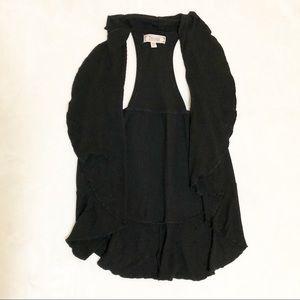 Decree Other - 🐿Knit, black open front vest.